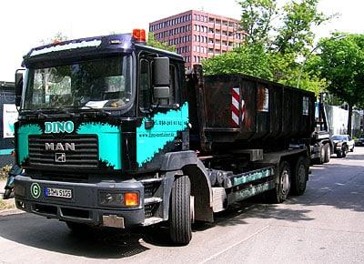 LKW Entsorgung Containerdienst Berlin