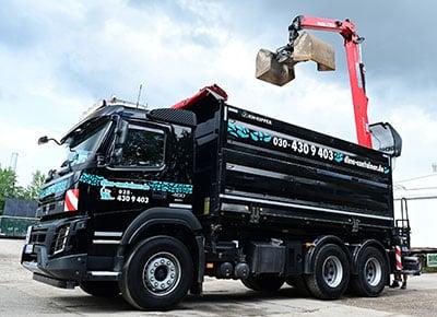 DINO Container Berlin Fahrzeug