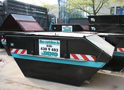 Absetzcontainer mit 7 Kubik